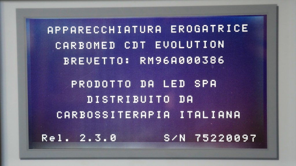 Brevetto visibile da Display